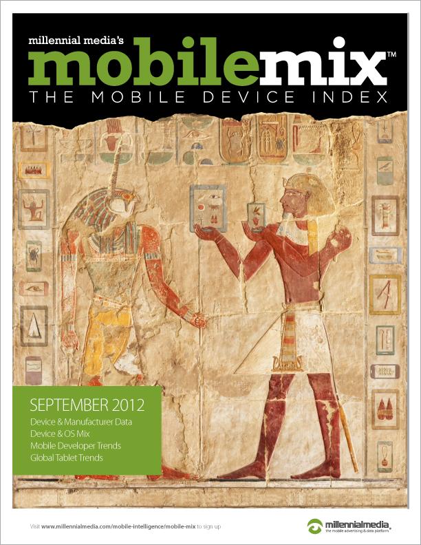 Millennial Media - Mobile Mix de setembro 2012
