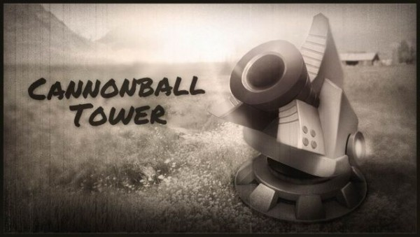 """""""Cannonball Tower"""" do jogo Fieldrunners 2 HD"""