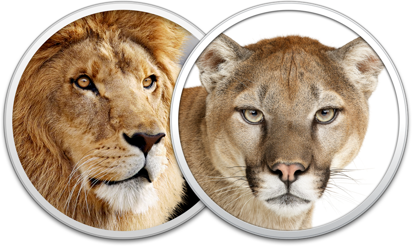 Ícones - OS X Mountain Lion e Lion