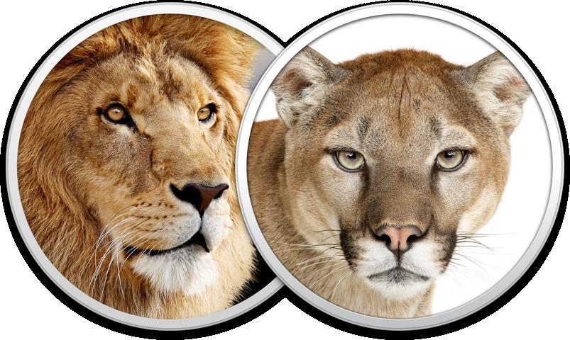 Ícones - OS X Mountain Lion e Lion