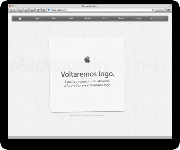 Apple Online Store offline