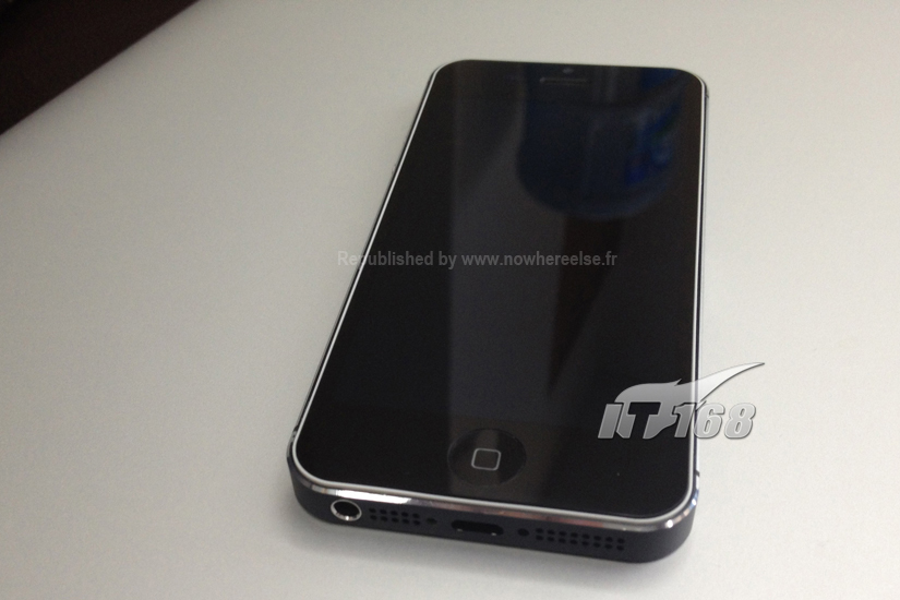 Suposto design final do iPhone 5