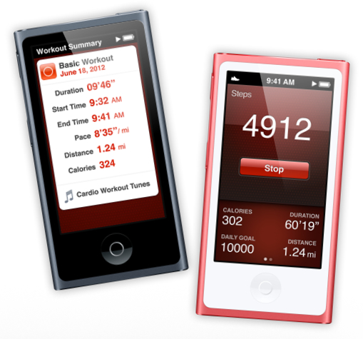 iPods nano - Fitness