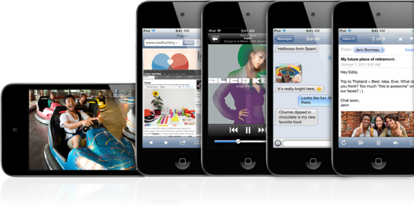iPods touch
