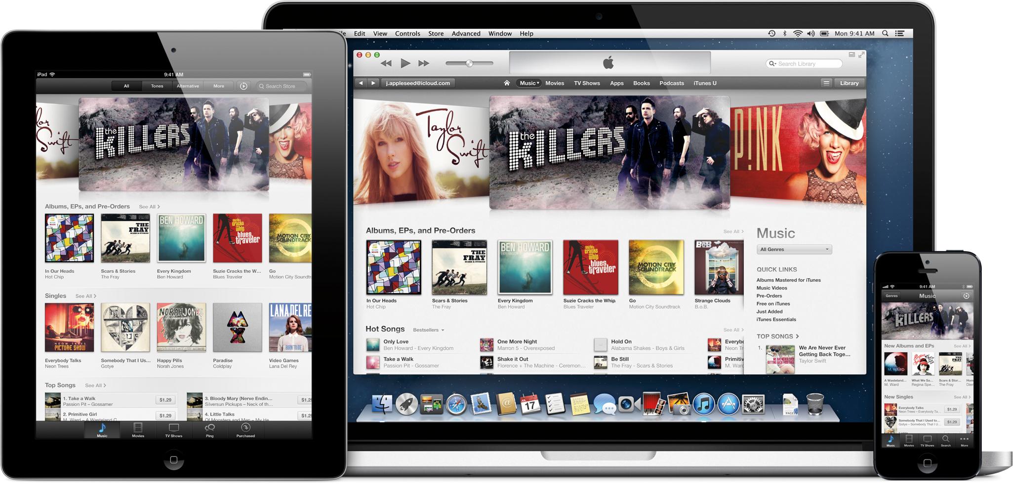 Pela primeira vez, vendas de músicas na iTunes Store caem  grande ... be767588ad