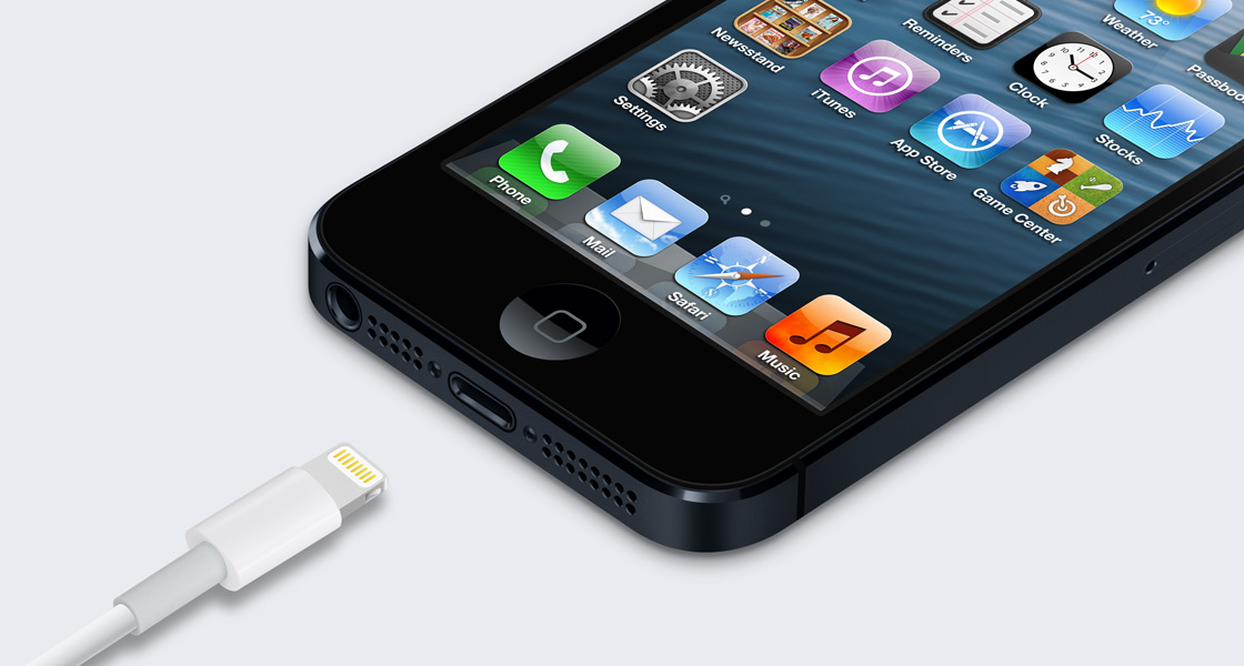 Novo conector do iPhone 5