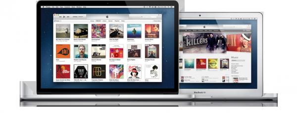 Novo iTunes no Mac