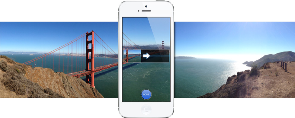 Foto panorâmica com iPhone 5