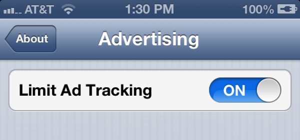 O novo Advertising Identifier do iOS 6