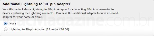 Página de compra do iPhone 4 no Reino Unido