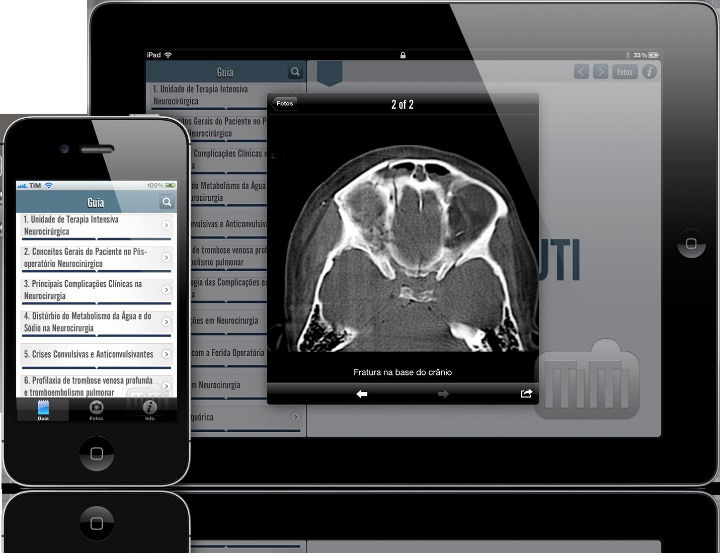 Guia de Neurocirurgia Intensiva - iPad e iPhone