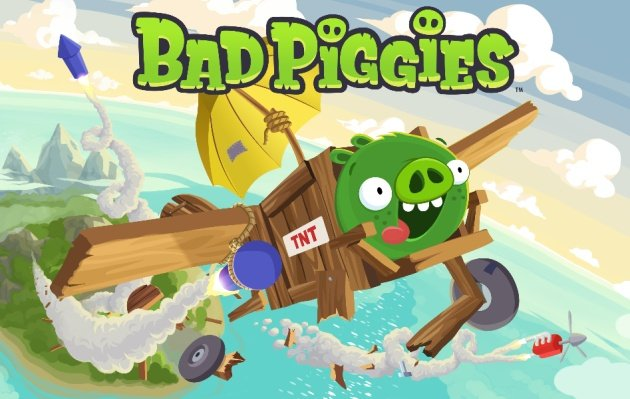 Banner do Bad Piggies