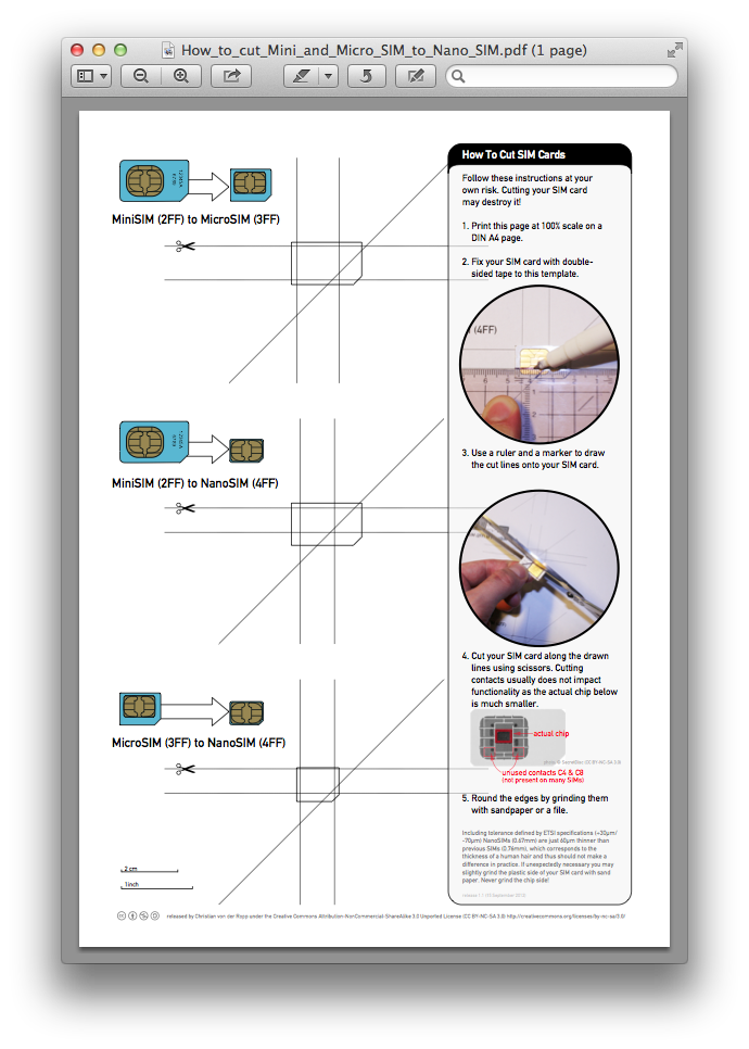 Guia para o Nano-SIM