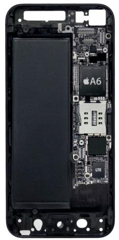 Interior do iPhone 5