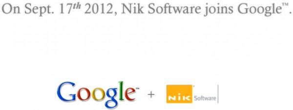 Nik Software comprada pelo Google