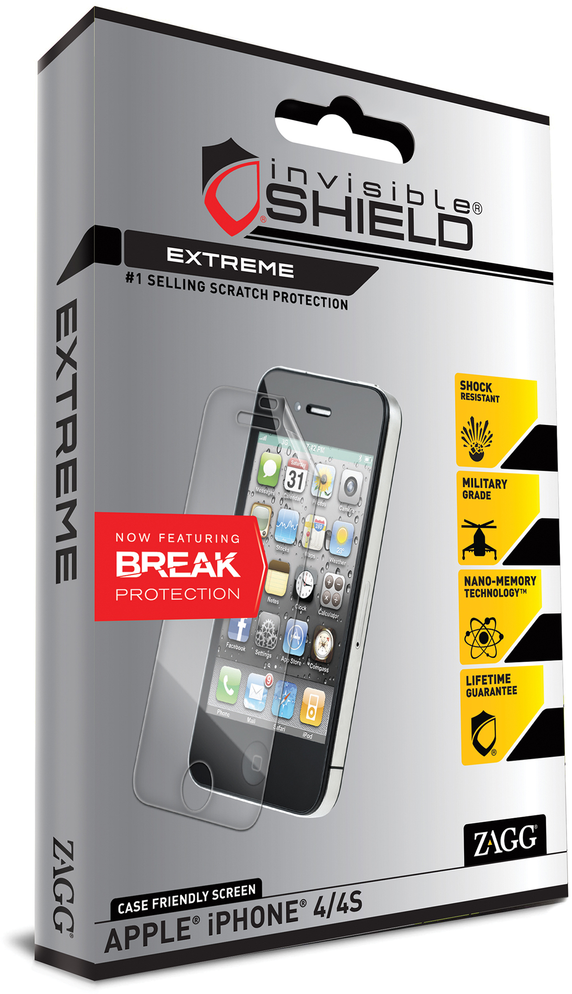 ZAGG invisibleSHIELD EXTREME para iPhone 5