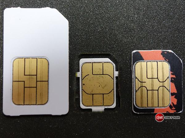 Comparação entre chips SIM (Mini-SIM, Nano-SIM e Micro-SIM)
