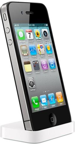 iPhone 4 no dock da Apple
