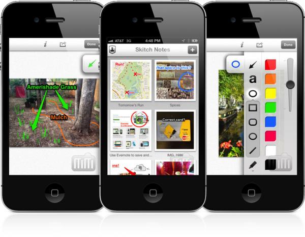 Skitch para iOS