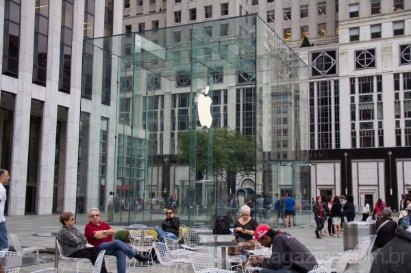 Fila da Apple Store para o iPhone 5