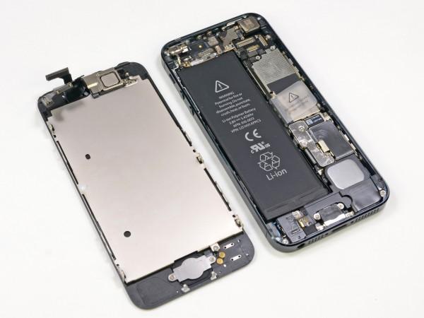 iPhone 5 desmontado pela iFixit