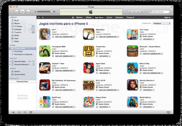 """Jogos incríveis para o iPhone 5"""