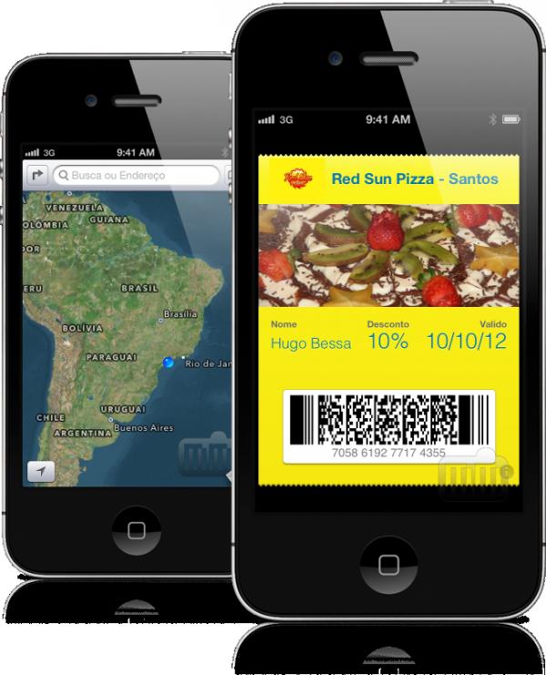 Passbook e Mapas no iOS 6