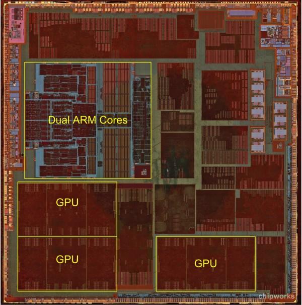 Interior do processador A6