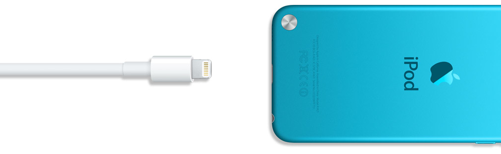 Cabo Lightning e iPod touch
