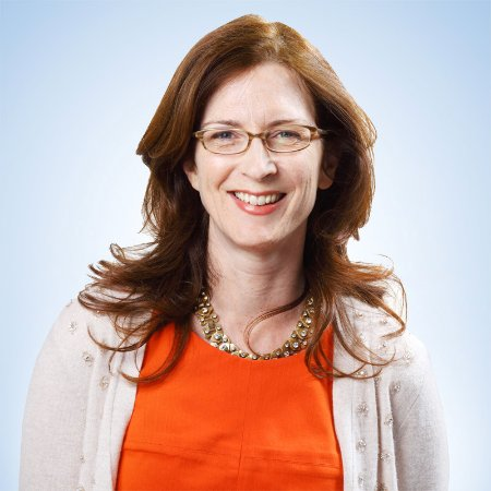Sally Cole, diretora de comunicações com empregados na Apple