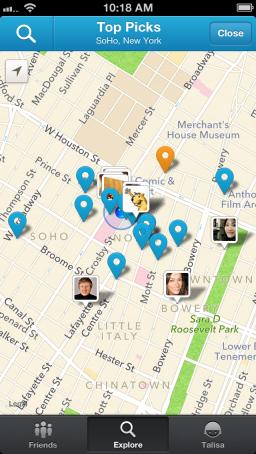 Foursquare - iPhone 5