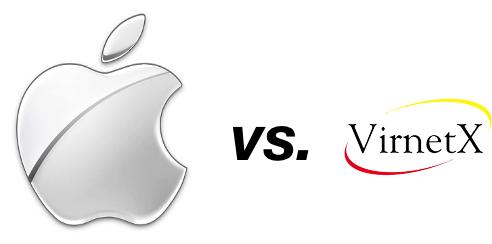 Logo Apple e Virnetx