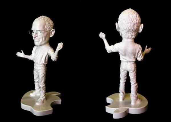 Estatueta de Steve Jobs, feita por XVALA