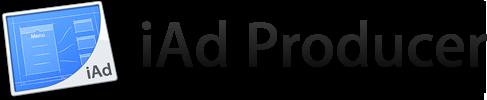 Título e ícone - iAd Producer