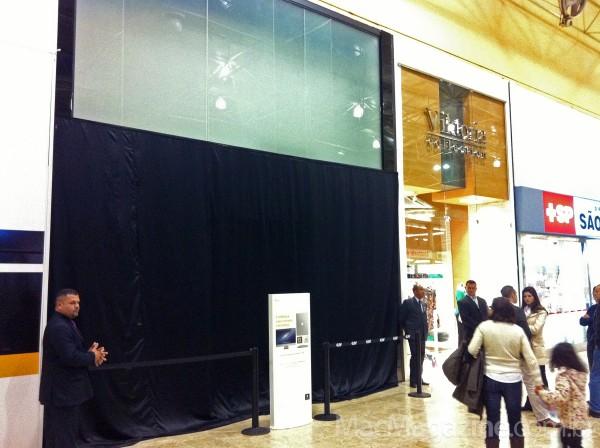 Inauguração da iPlace do Shopping Center Norte
