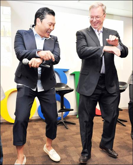 Eric Schmidt em Gangnam Style