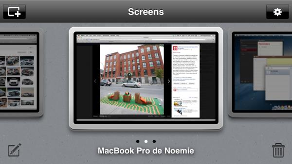 Screens VNC para iOS