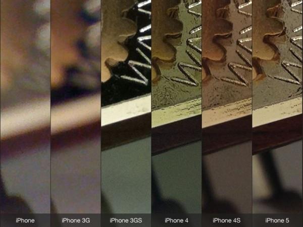 Comparação - câmeras dos iPhones