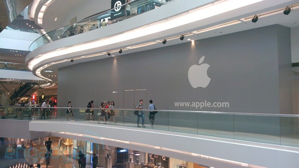 Segunda Apple Retail Store de Hong Kong - Festival Walk mall
