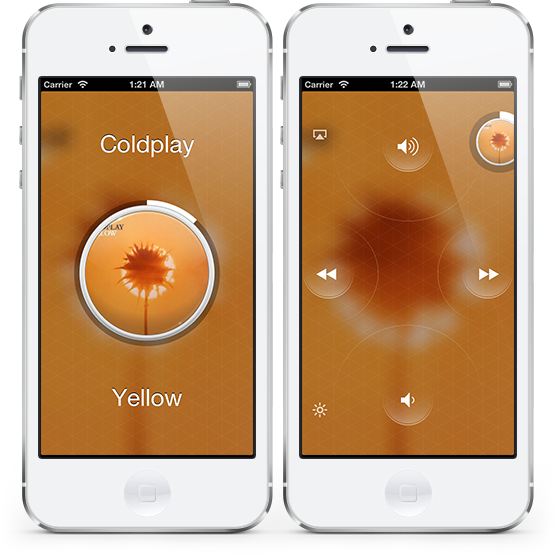 Aplicativo Listen em iPhones