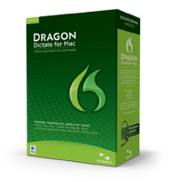 Caixa do Dragon Dictate 3