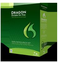 Caixa do Dragon Dictate 3