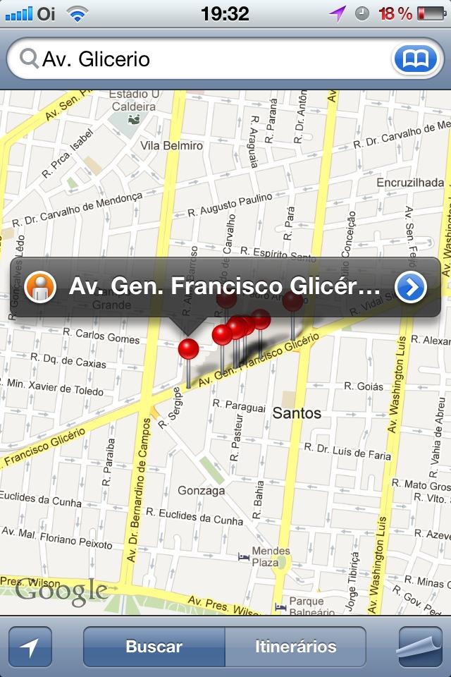 Mapas do Google - Pesquisa 2