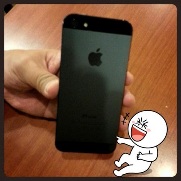 Foto do iPhone 5 publicada por ministro de informações de Taiwan