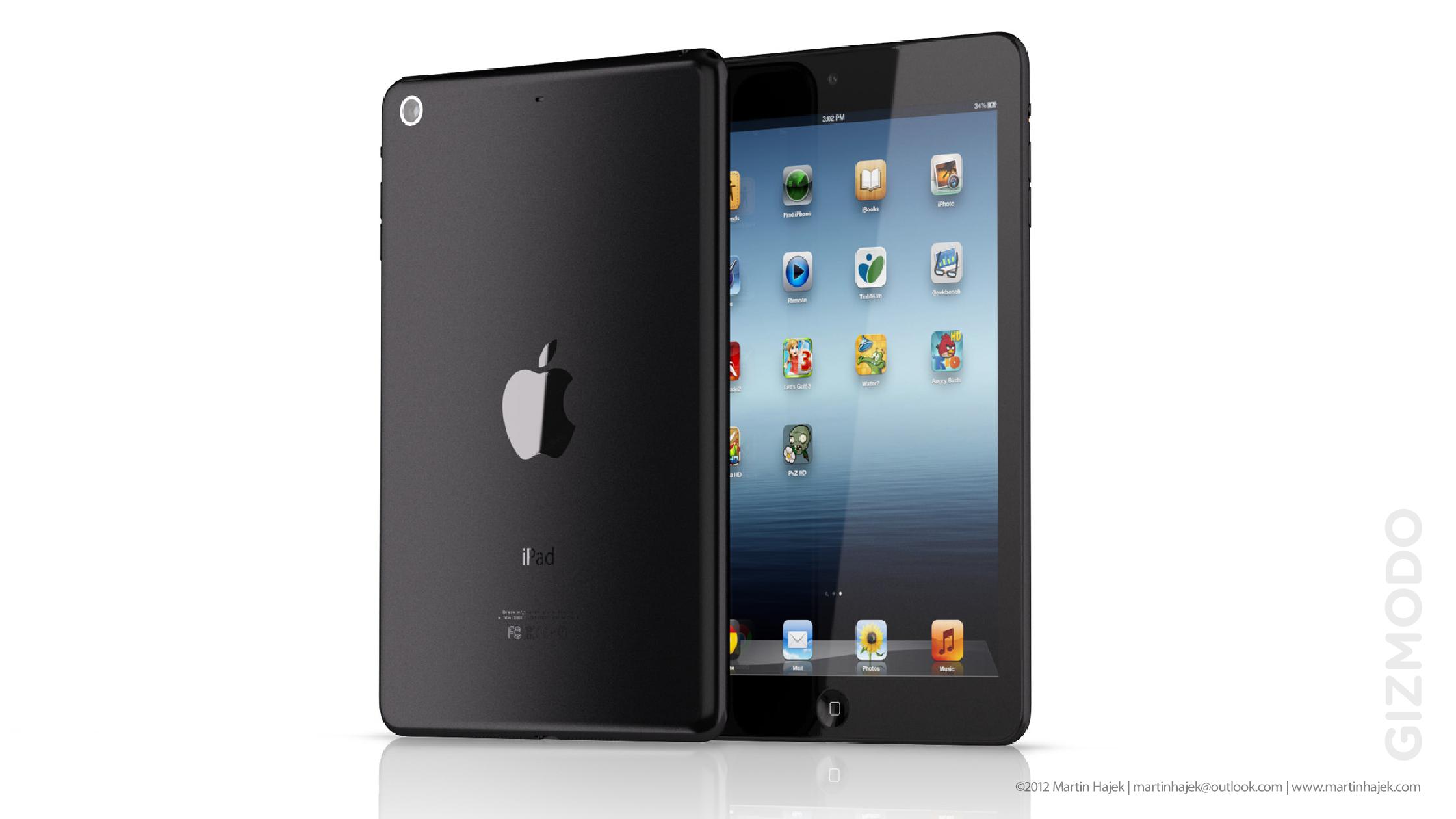 """""""Mockup"""" de """"iPad mini"""""""