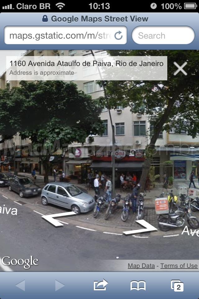 Street View na web