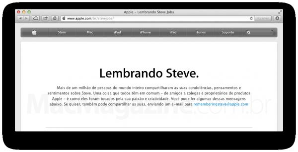 Lembrando Steve Jobs