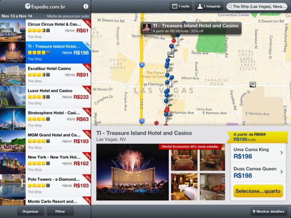 Expedia Hotels (iPad)