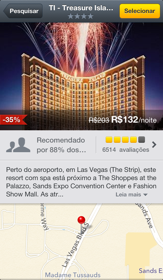 Expedia Hotels (iPhone 5)