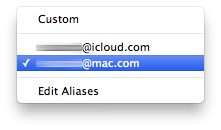Emails iCloud